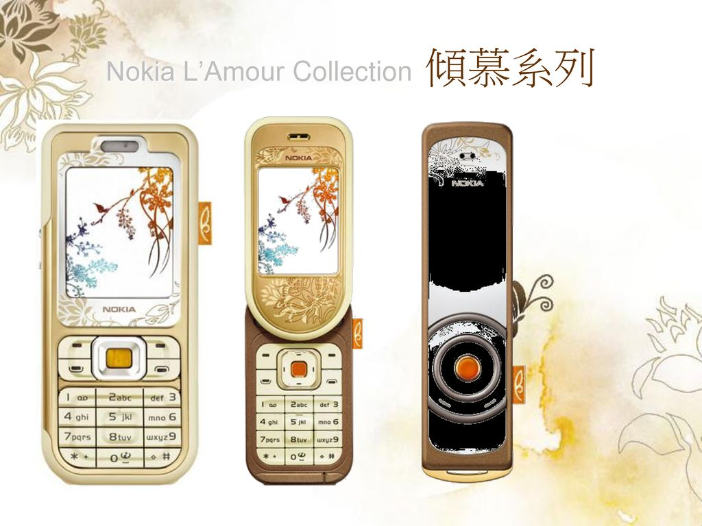 Nokia L'Amour Collection 傾慕系列