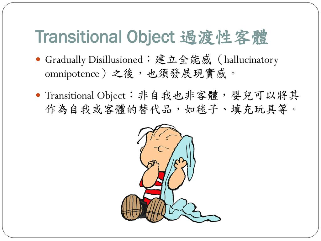 Transitional Object 過渡性客體