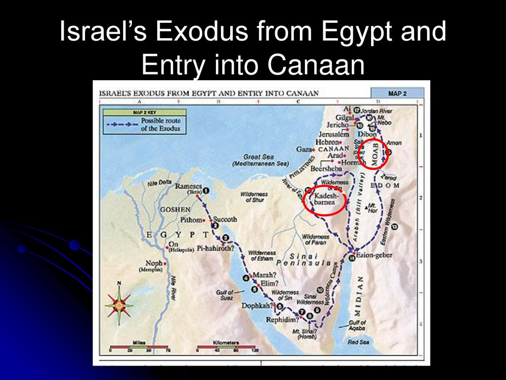 Israel's Exodus from Egypt and Entry into Canaan