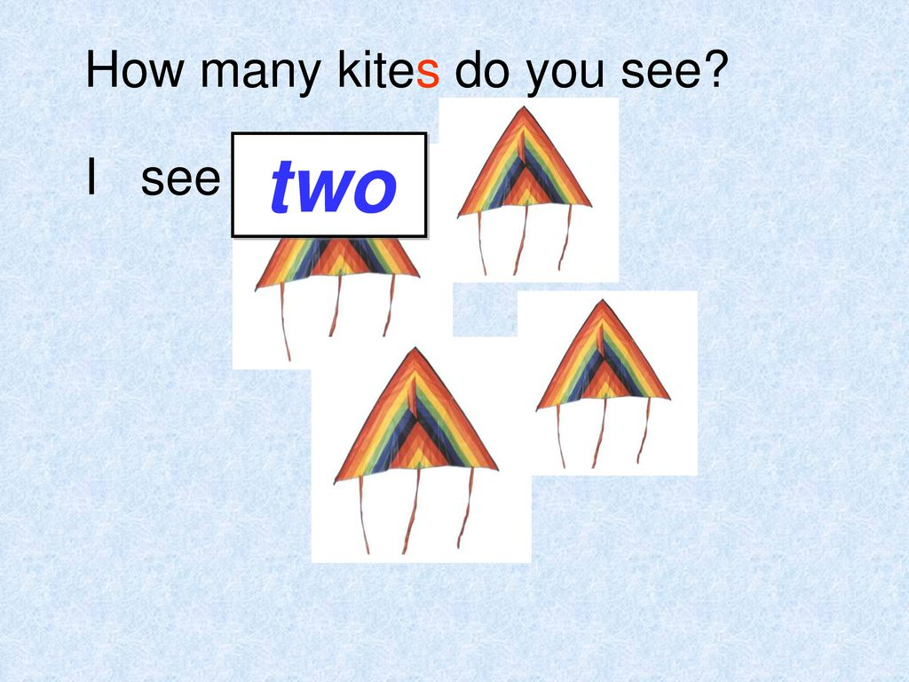 How many kites do you see