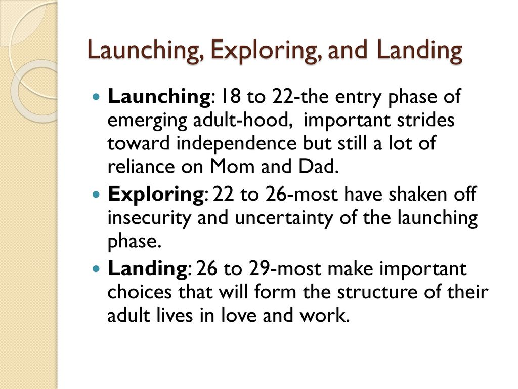 Launching, Exploring, and Landing