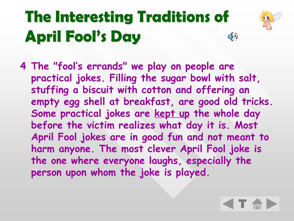 The Interesting Traditions of April Fool's Day
