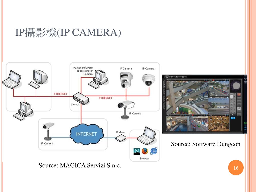 IP攝影機(IP CAMERA) Source: Software Dungeon
