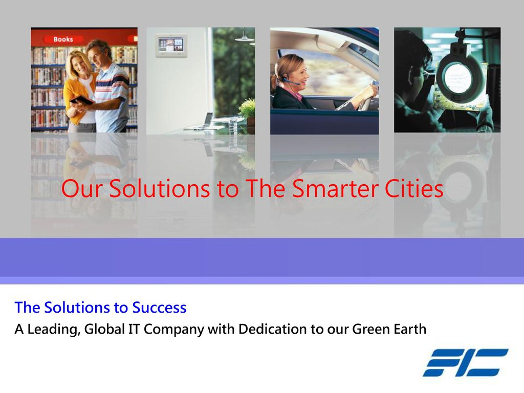 Our Solutions to The Smarter Cities