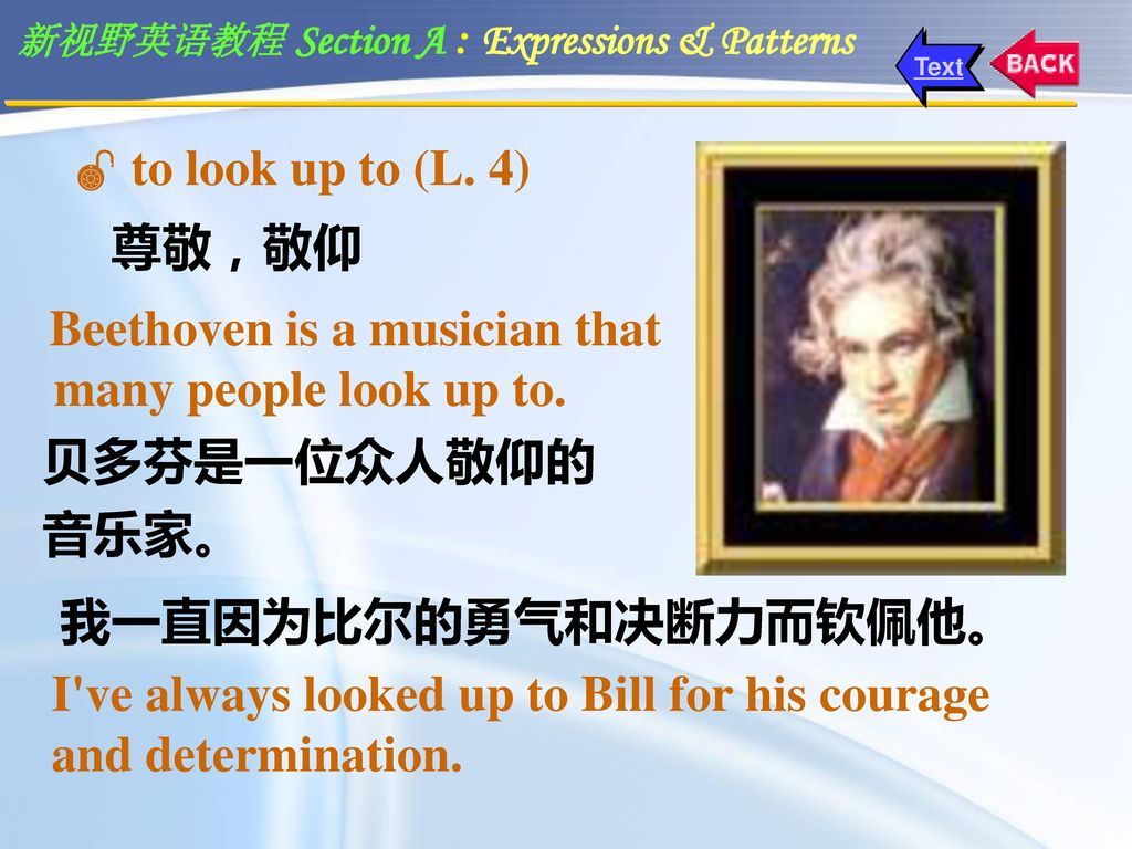 Beethoven is a musician that many people look up to.