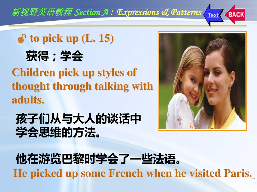 Children pick up styles of thought through talking with adults.