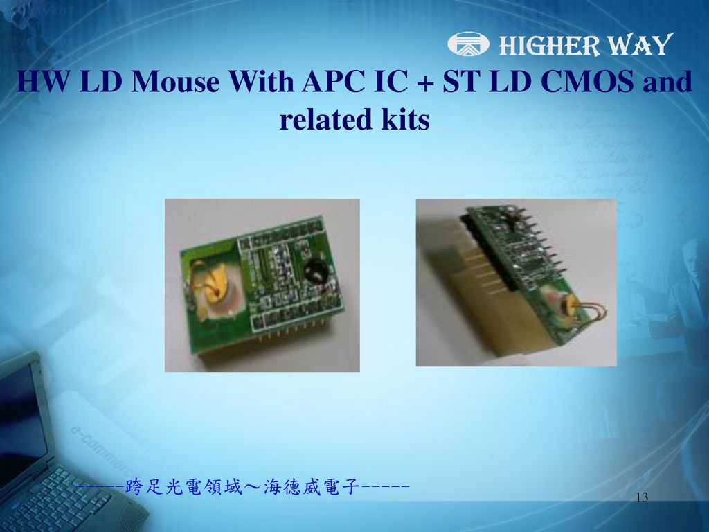HW LD Mouse With APC IC + ST LD CMOS and related kits