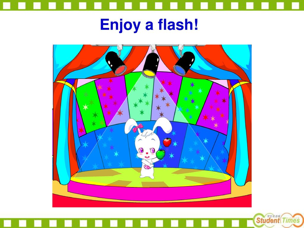 Enjoy a flash!