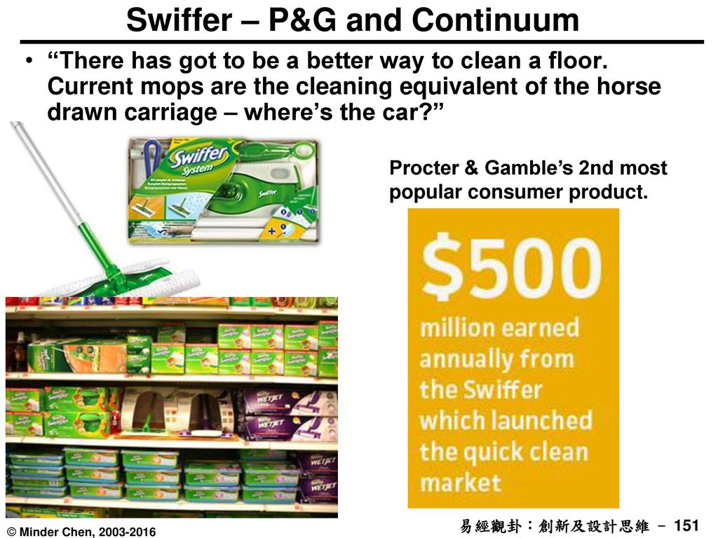 Swiffer – P&G and Continuum