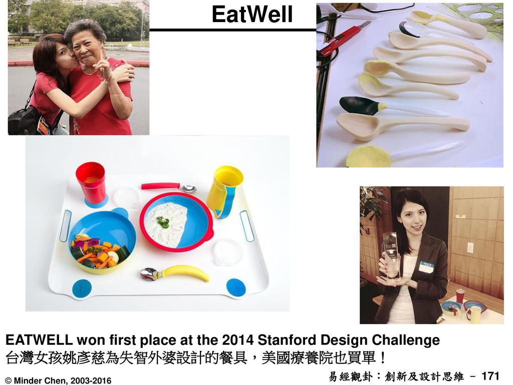 EatWell EATWELL won first place at the 2014 Stanford Design Challenge