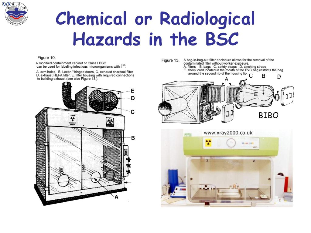 Chemical or Radiological Hazards in the BSC