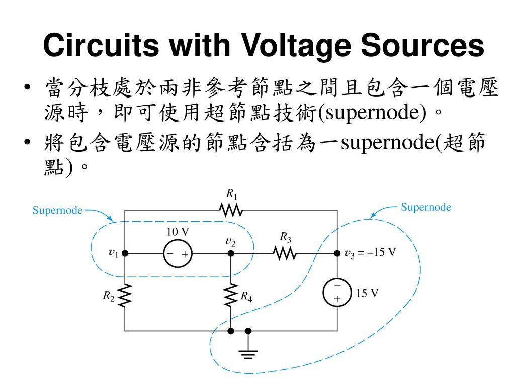 Circuits with Voltage Sources