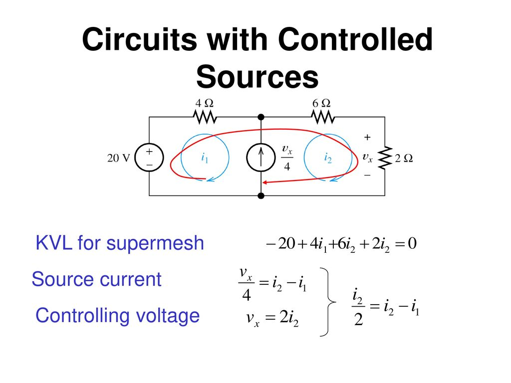Circuits with Controlled Sources