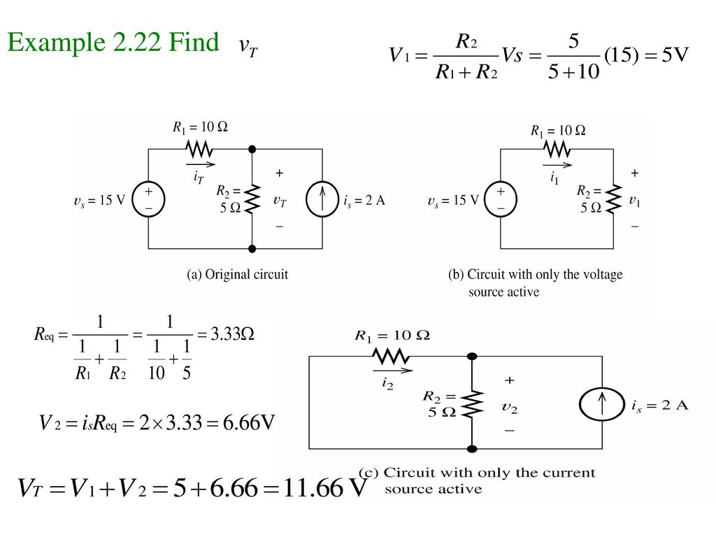Example 2.22 Find