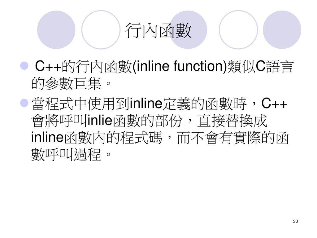 第11章C語言到C++語言11-1 物件導向程式設計11-2 青出於藍的C C