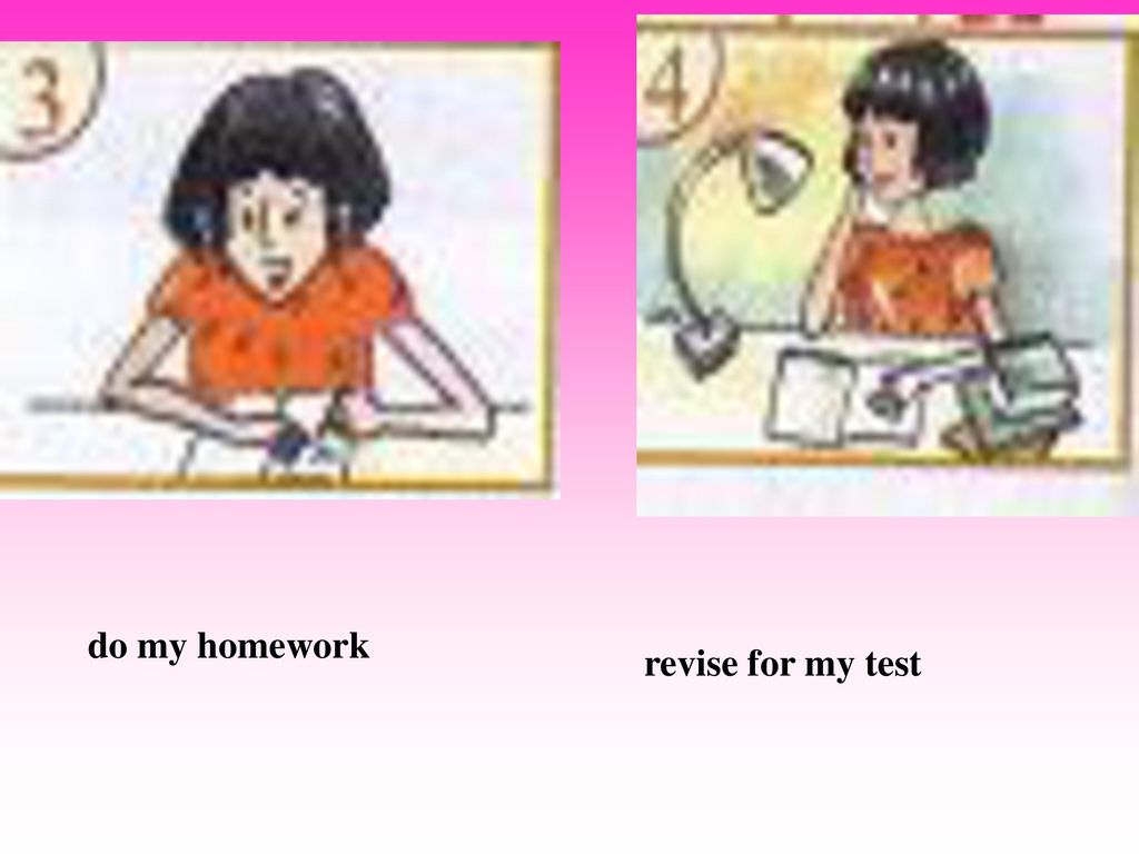 do my homework revise for my test