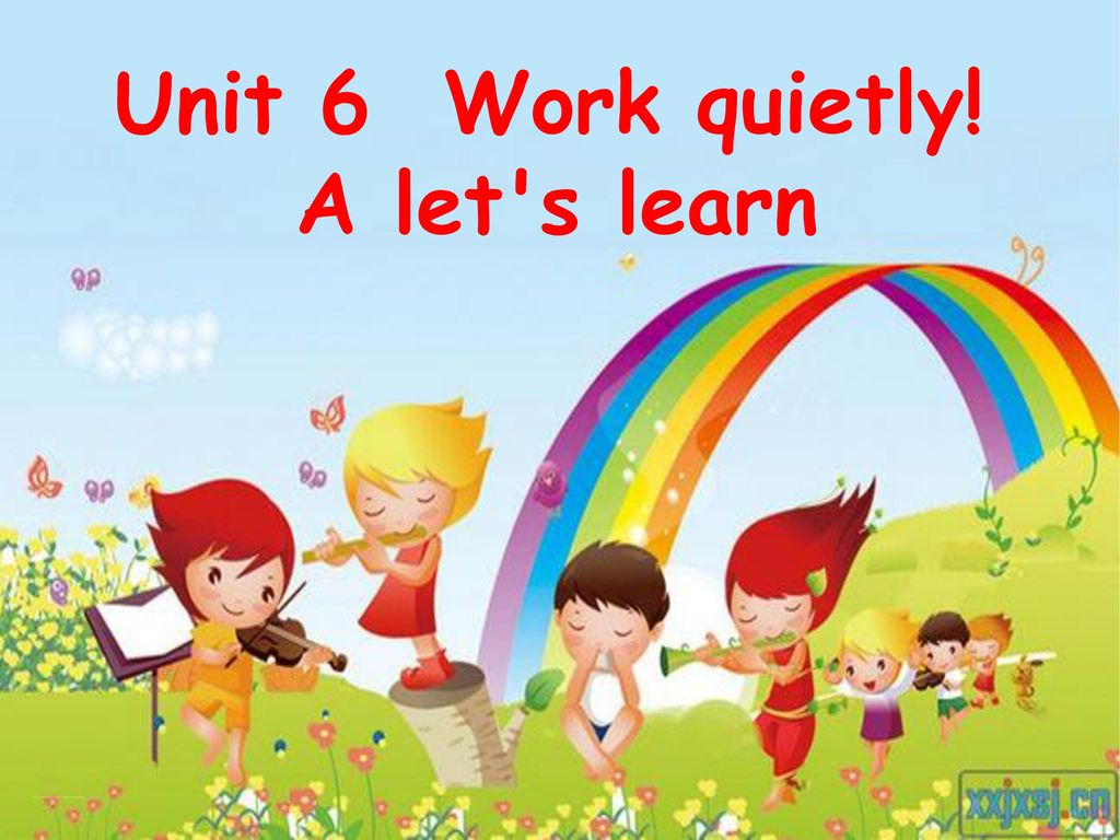 Unit6 Work quickly A Let's learn