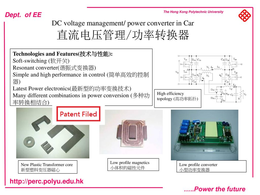 Power Electronics Development On Electric Vehicles Ppt Download Low Profile Converters Dc Voltage Management Converter In Car