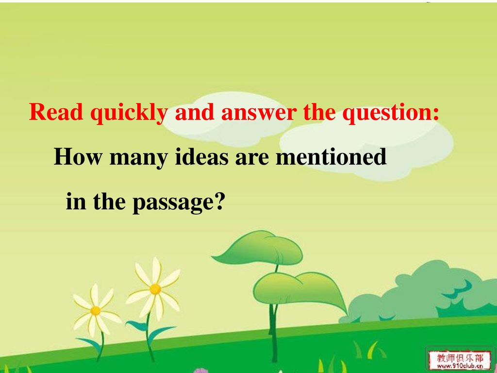 Read quickly and answer the question: