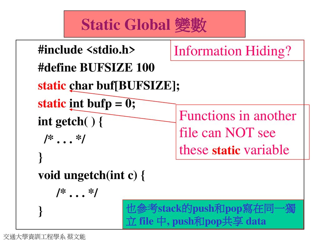 C++ 物件導向程式設計Introduction to C++ with OOP - ppt download