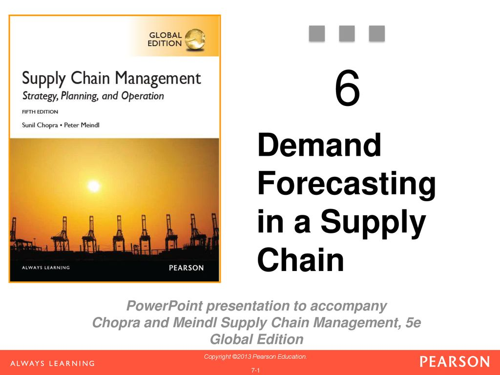 Demand Forecasting in a Supply Chain - ppt download