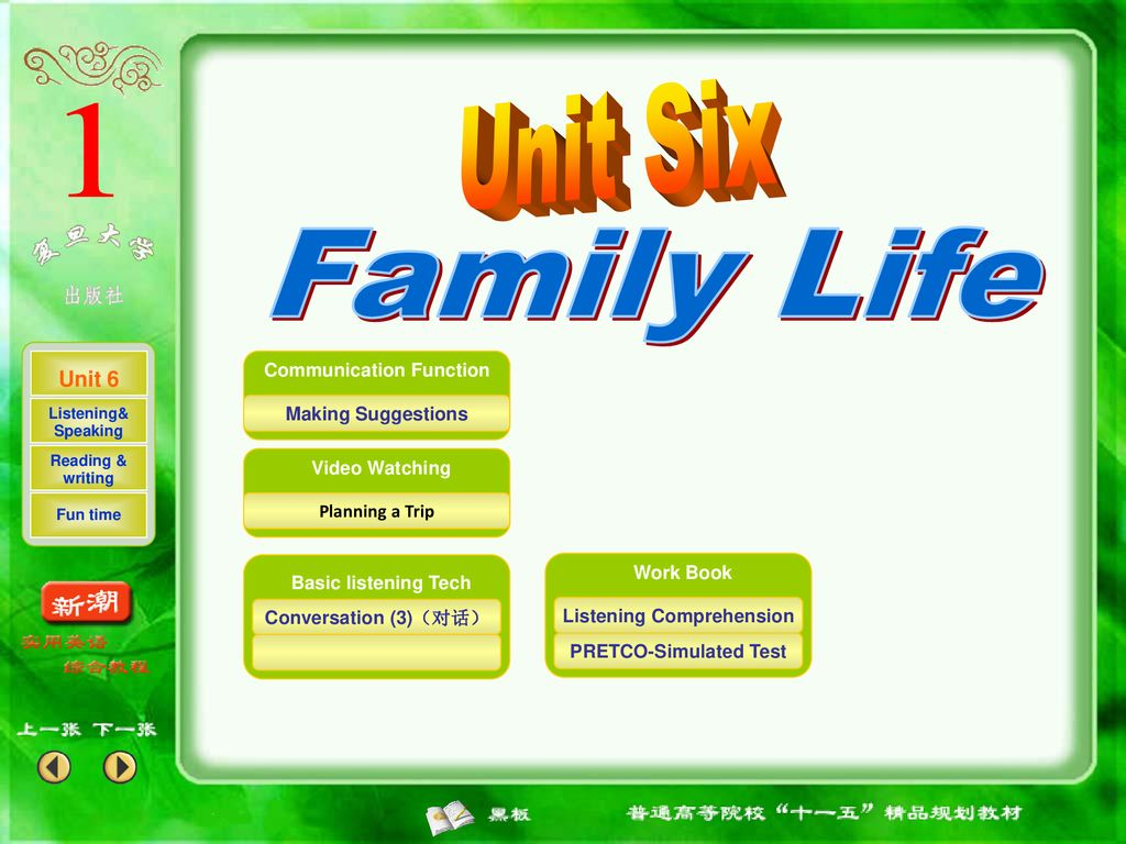Unit 6 Family Life Listening&Speaking - ppt download