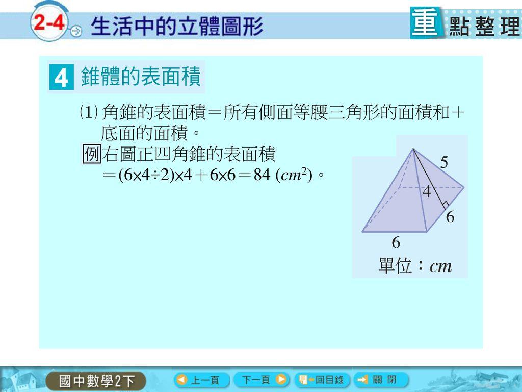 表面積 正四 角錐 正四角錐の体積(底辺と高さから)
